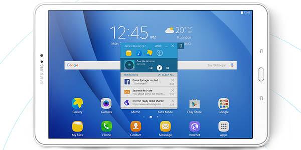 Samsung Galaxy Tab A (2016) blanca