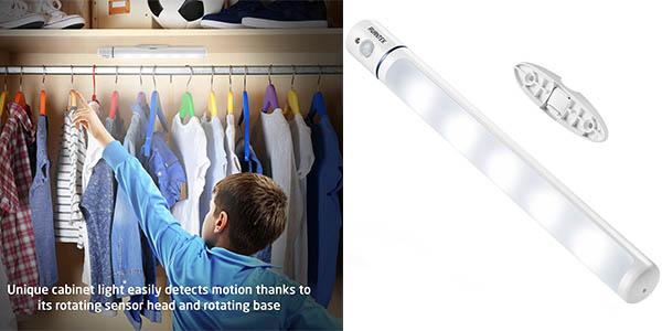 tubo LED Avantek sensor movimiento portátil barato