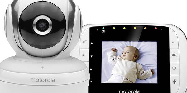 vigilabebes Motorola MBP33S calidad imagen nitida gran alcance señal
