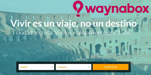 Waynabox viaje sorpresa barato