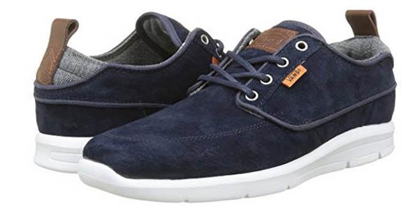 zapatos tipo nauticos vans brigata lite hombre