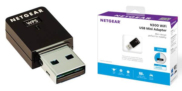 Adaptador WiFi USB Netgear WNA3100M-100PES