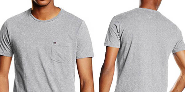 camiseta básica hombre tommy hilfiger manga corta