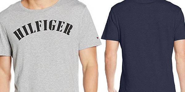 camiseta manga corta tommy hilfiger algodón brutal relacion calidad-precio