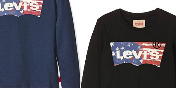 camiseta niños levi's emilio manga larga precio brutal