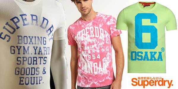 camisetas superdry hombre baratas