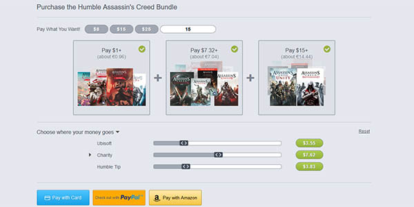 Comprar Humble Assassin's Creed Bundle