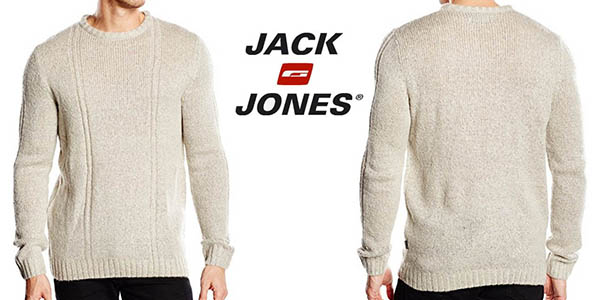 jack jones cochristoph knit crew sueter hombre barato