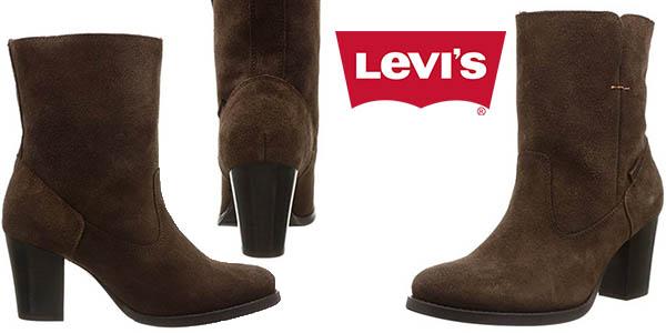 levi's sancho heel botas camperas con tacon piel baratas