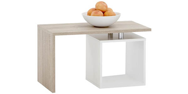 mesa auxiliar diseño melamina barata FMD Klara