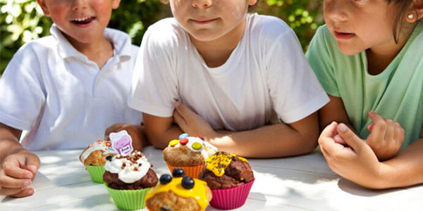 moldes silicona microondas Lékué muffins & Kids seguro y rápido
