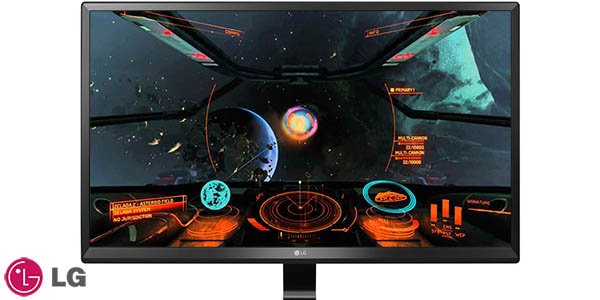Monitor LG 24UD58-B LED 4K de 23,8''
