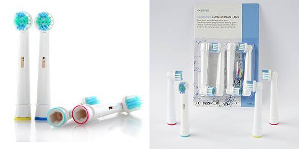 Pack recambios compatibles Oral-B baratos