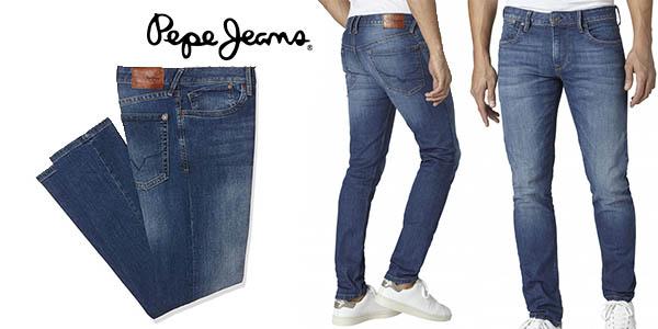 pepe jeans hatch vaqueros hombre baratos