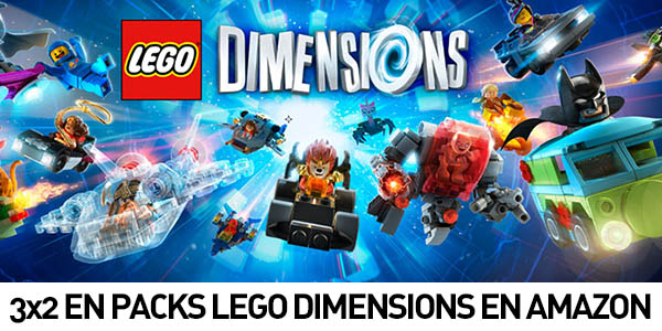 3x2 Packs Lego Dimensions