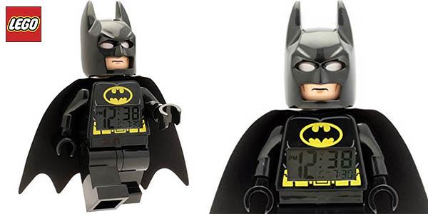 Reloj despertador Batman LEGO DC Super Heroes