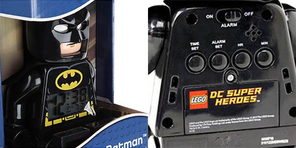 Batman LEGO DC Super Heroes despertador