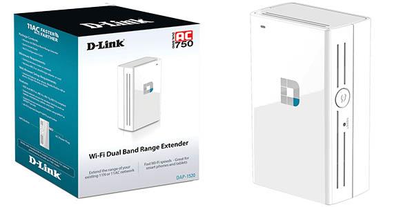 Repetidor WiFi D-Link DAP-1520