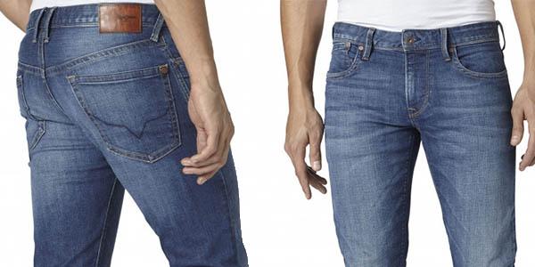 tejanos pepe jeans hatch slim fit precio brutal