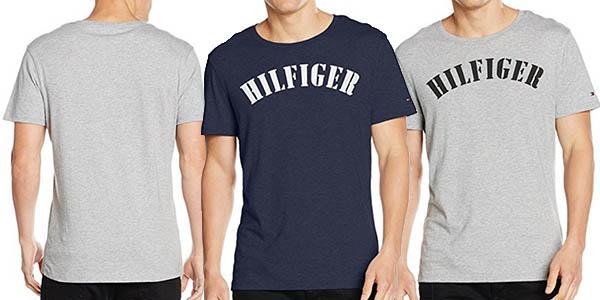 tommy hilfiger organic cotton camiseta casual barata