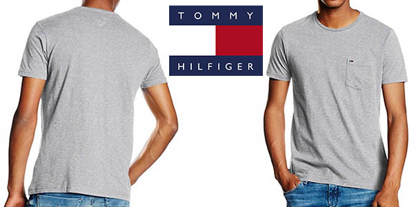 tommy hilfiger thdm basic cn knit camiseta hombre barata