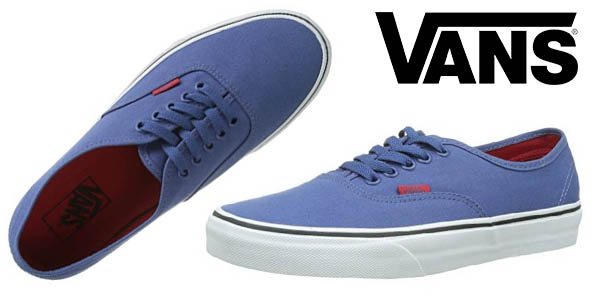 Vans Authentic zapatillas azul unisex oferta