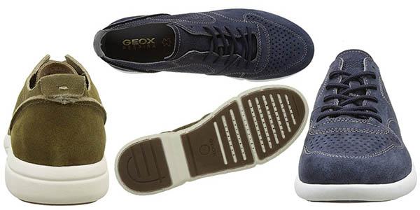 zapatos Geox Brattley terciopelo cómodos