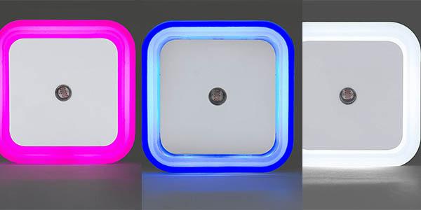 4 LED enchufe sensor oscuridad gran relación calidad-precio