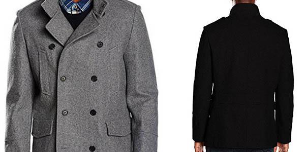 abrigo casual new look military wool