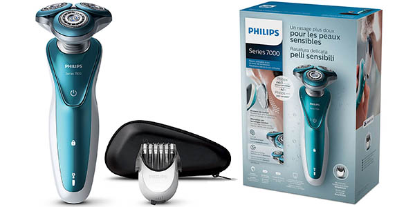 Afeitadora eléctrica Philips S7370/41 Wet & Dry