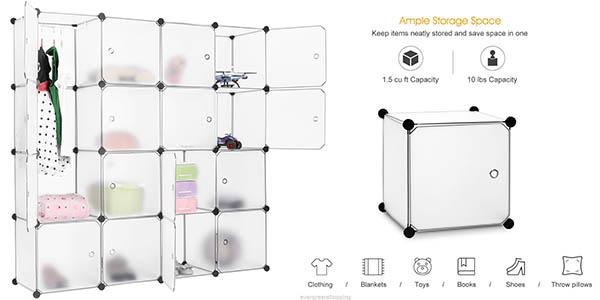 armario cubos componible funcional barato
