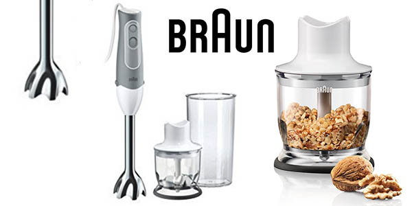 Braun MQ520 pasta minipimer 600 vatios minipicadora barata