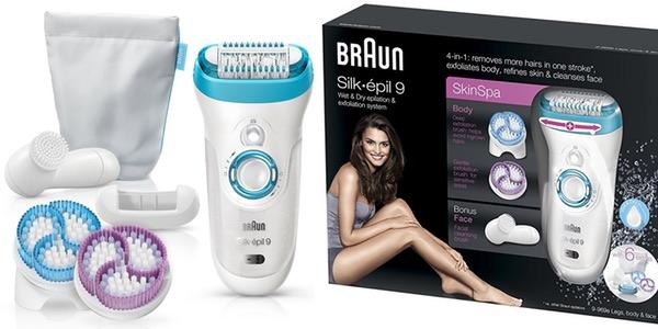 depiladora eléctrica Braun Silk-épil barata