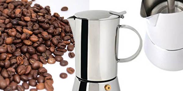 cafetera italiana pequeña BergOFF relación calidad-precio brutal
