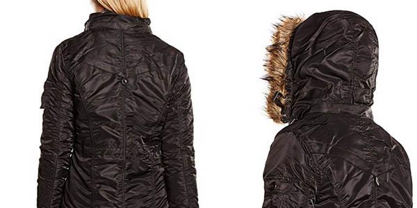 chaqueta acolchada mujer Hailys capucha extraíble