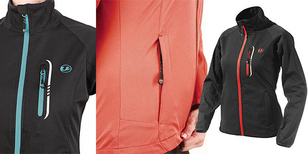 chaqueta senderismo impermeable transpirable mujer Ultrasport Mia espectacular relación calidad precio