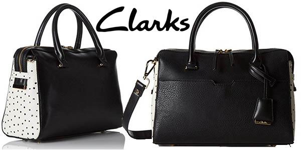 Clarks Milners Grace bolso mujer vestir barato