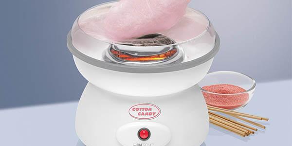 Clatronic ZWM 3478 máquina algodón azúcar fácil utilizar precio brutal