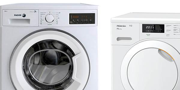 El Corte Inglés rebajas lavadoras y secadoras febrero 2017