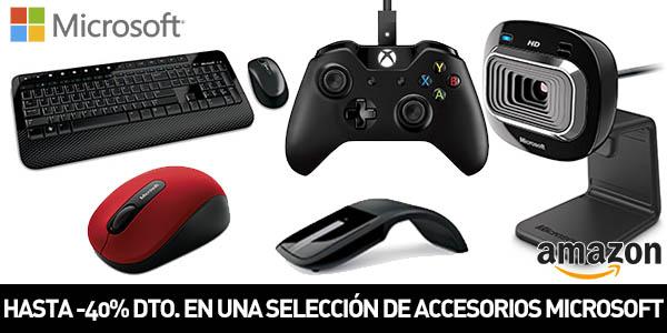 Descuentos en accesorios Microsoft