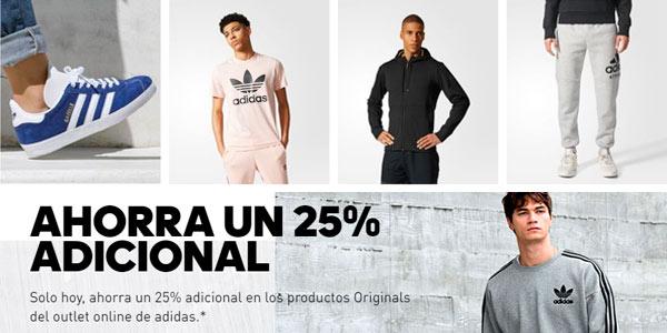 25% de descuento adicional en outlet de Adidas