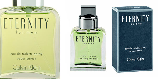 Eau de toilette Eternity for men Calvin Klein rebajada en Amazon
