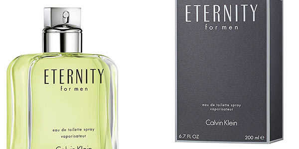 Eau de toilette Calvin Klein Eternity colonia para hombre 200 ml chollo