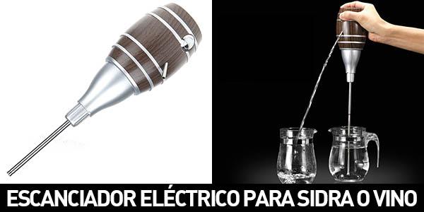Mini escanciador de sidra eléctronico