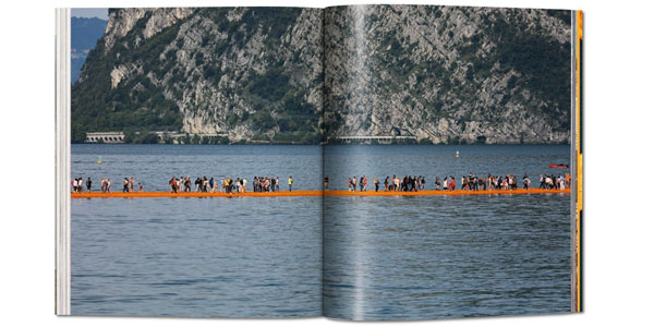 Christo and Jeanne-Claude. The Floating Piers de Taschen