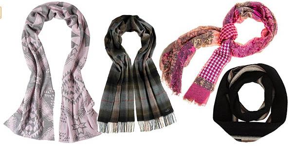 Fraas Versace bufandas pañuelos relación calidad-precio brutal