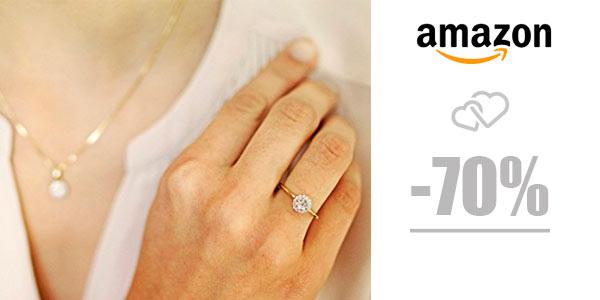 70% de descuento en joyas con diamantes en Amazon