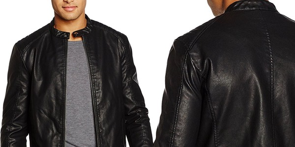 Chaqueta Jack & Jones Jorblack On Black Biker