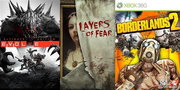 Juegos con Xbox Live Gold marzo 2017
