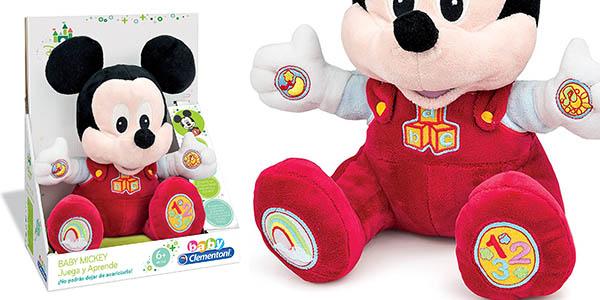juguete interactivo Mickey Mouse canciones números letras